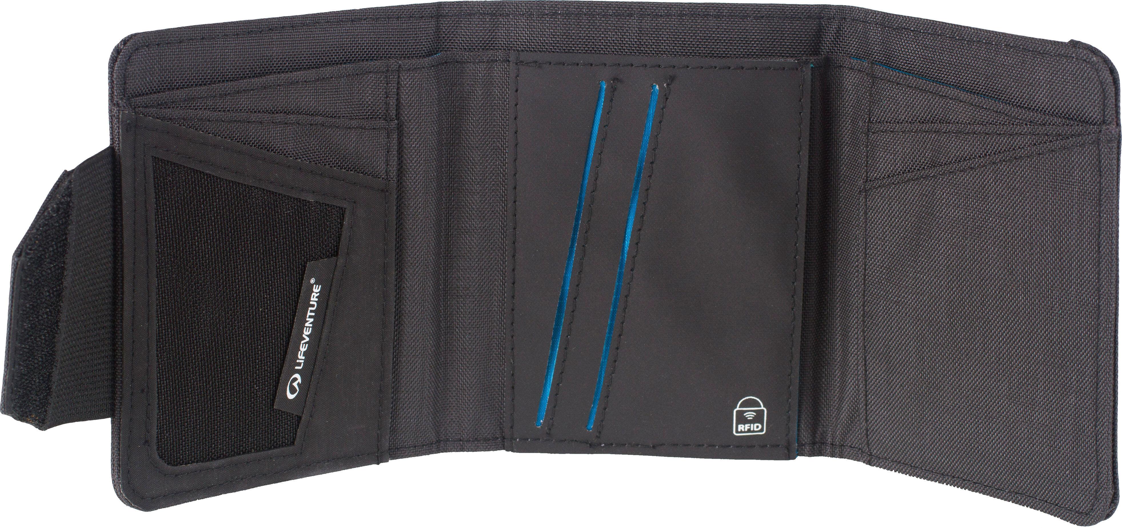 dbb4505f478fc Jack Wolfskin. Cashbag Wallet RFID Portfel czarny. 85